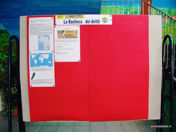 Piccoli luoghi universali amnesty kids for La bacheca arredamenti napoli